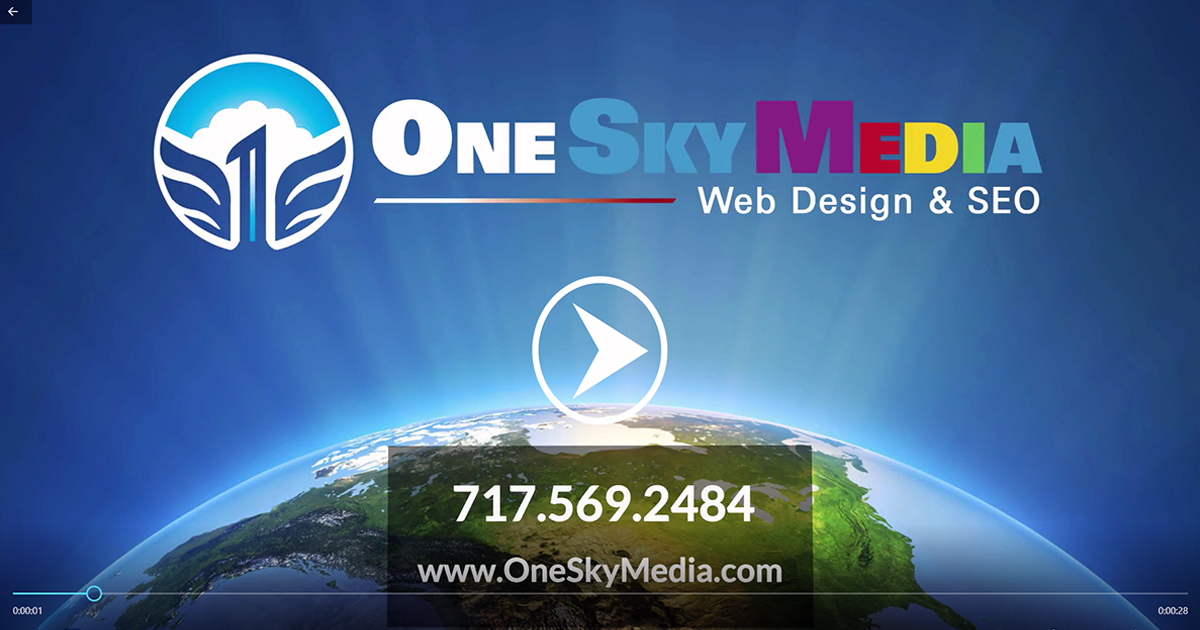 One Sky Media Website Design & SEO Commercial