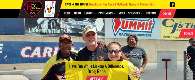 Race 4 The House Website