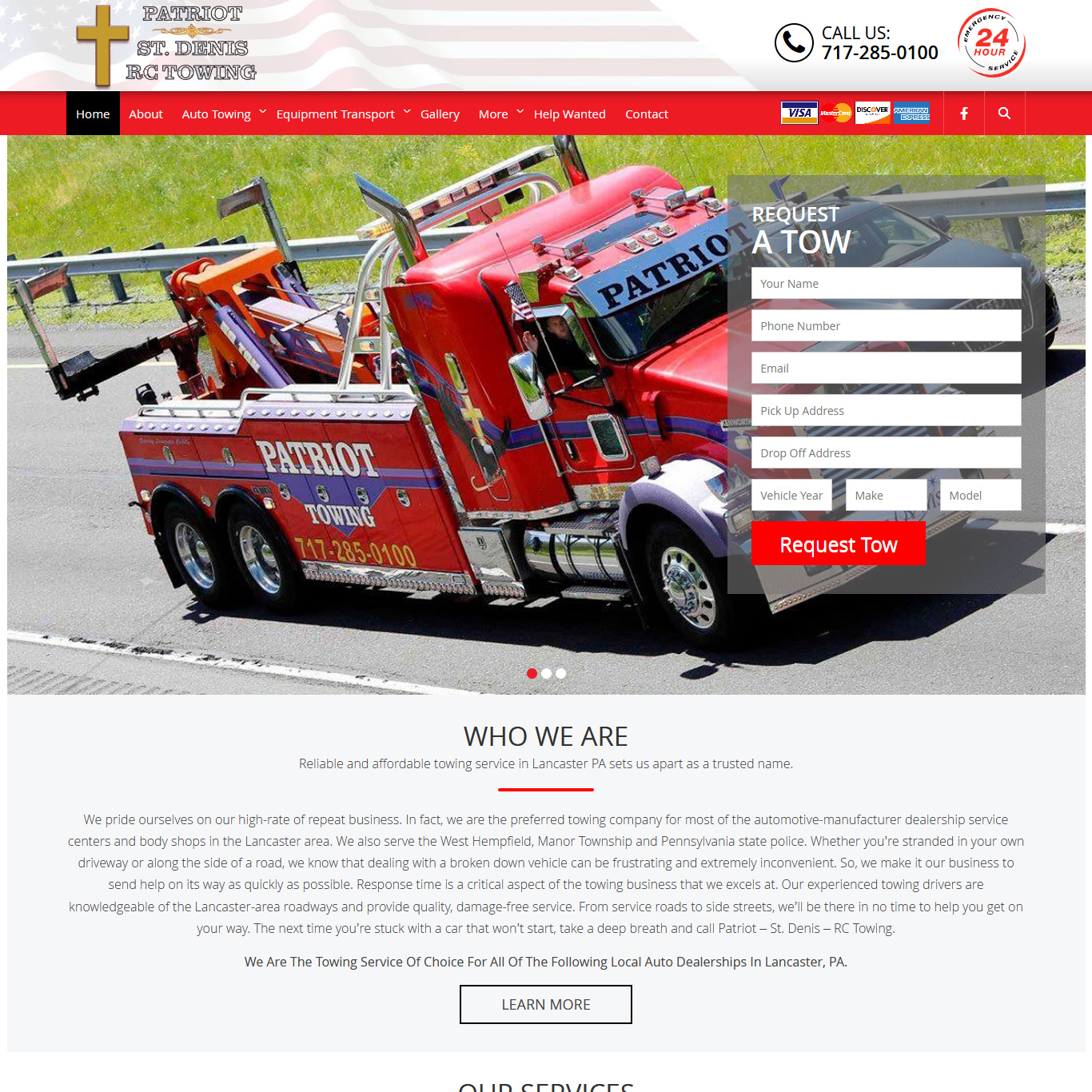 Patriot St. Dennis RC Towing - towing